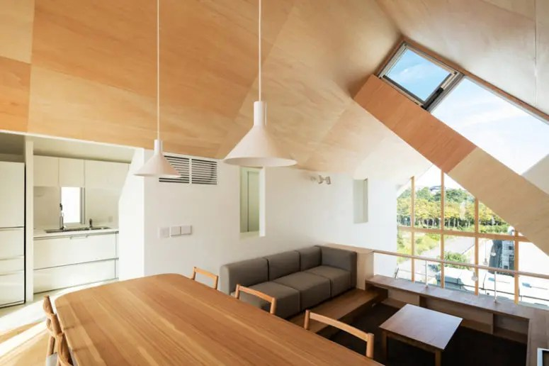 Wood Clad Minimalist House With Three Spaces DigsDigs