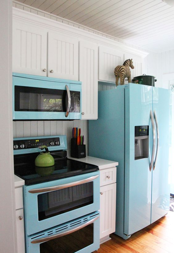 Small Kitchen Design Yellow