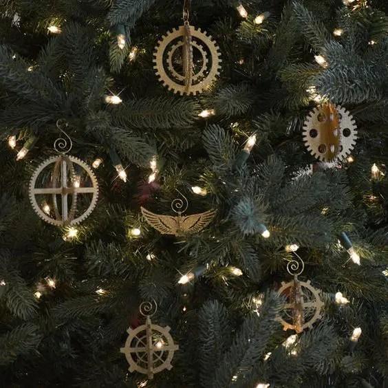 25 Unique Steampunk Christmas Decor Ideas DigsDigs