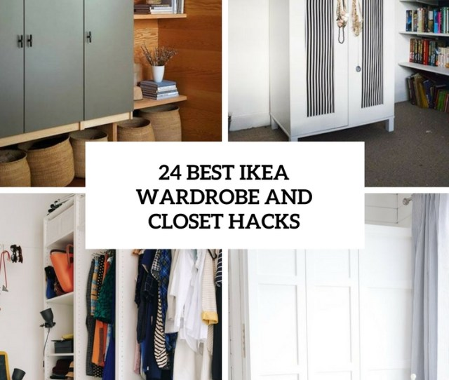 Best Ikea Wardrobe And Closet Hacks Cover