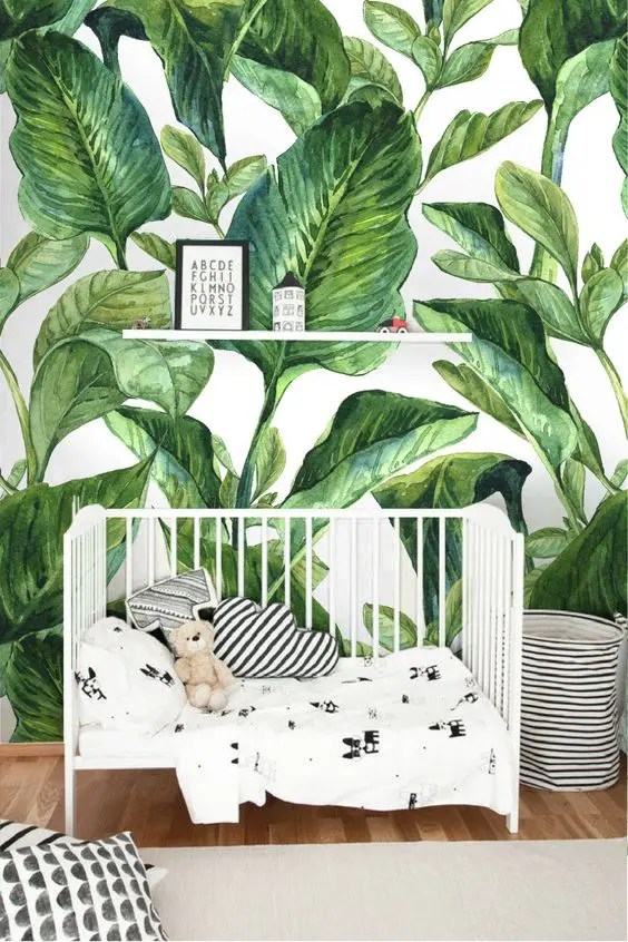 21 Ideas To Pull Off Tropical Decor In A Nursery DigsDigs