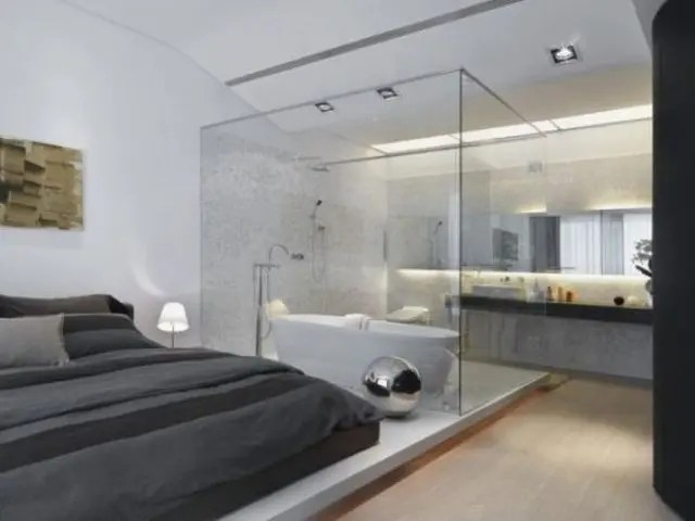 A Bathtub In A Bedroom 25 Creative Ideas DigsDigs