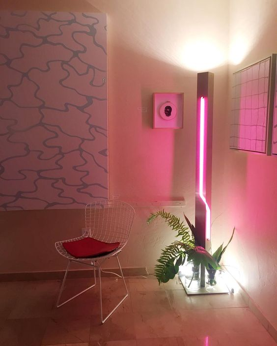 25 Awesome Ideas To Use Neon Lights For Home Decor DigsDigs