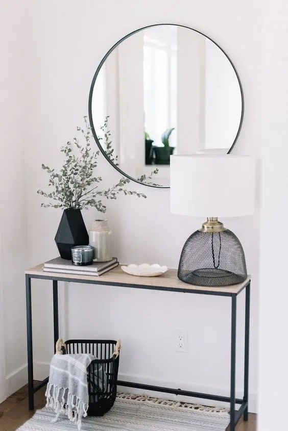 25 Edgy And Cool Mirrors For Your Entryway DigsDigs