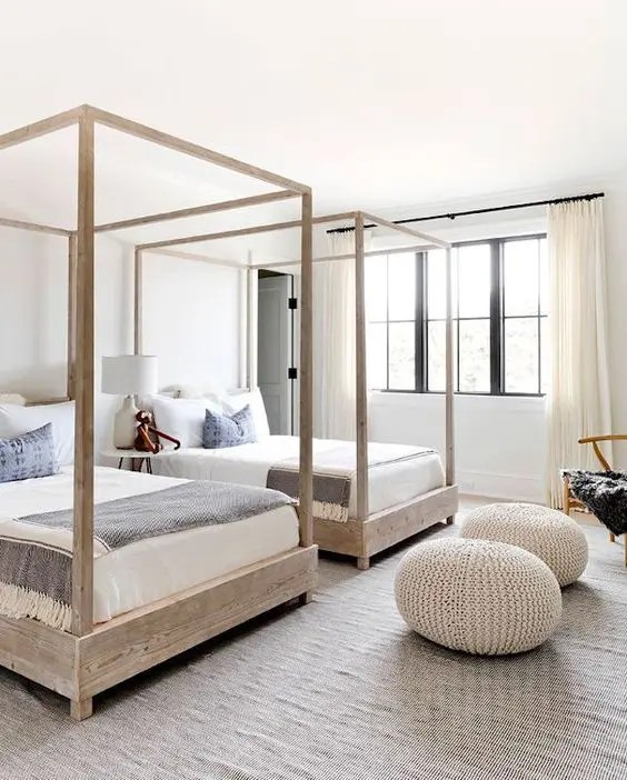 25 Cool Shared Guest Bedroom Decor Ideas Digsdigs