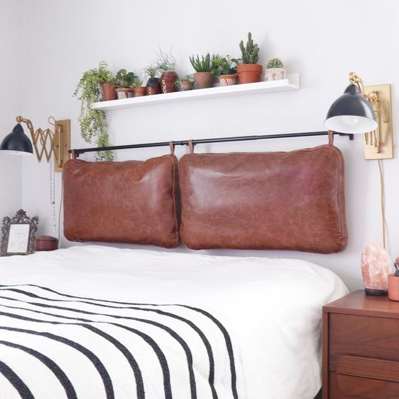 24 trendy hanging headboards for your