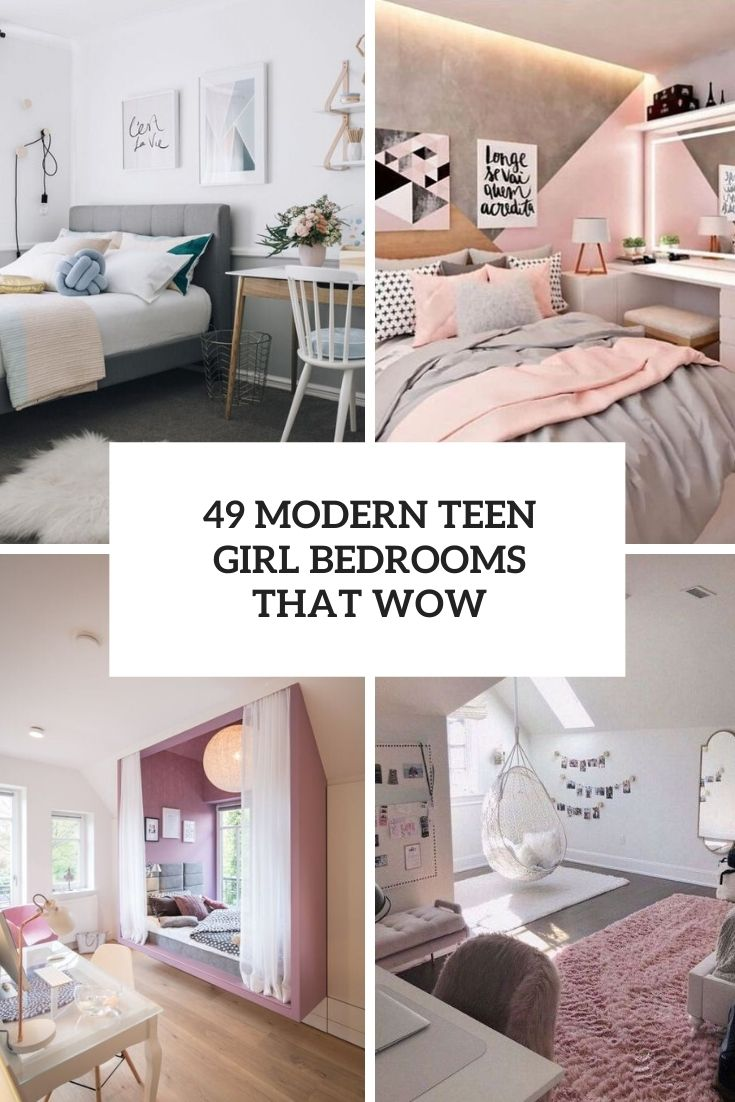 Teen Girl Room Design: Modern Teenage Girl Bedroom Designs