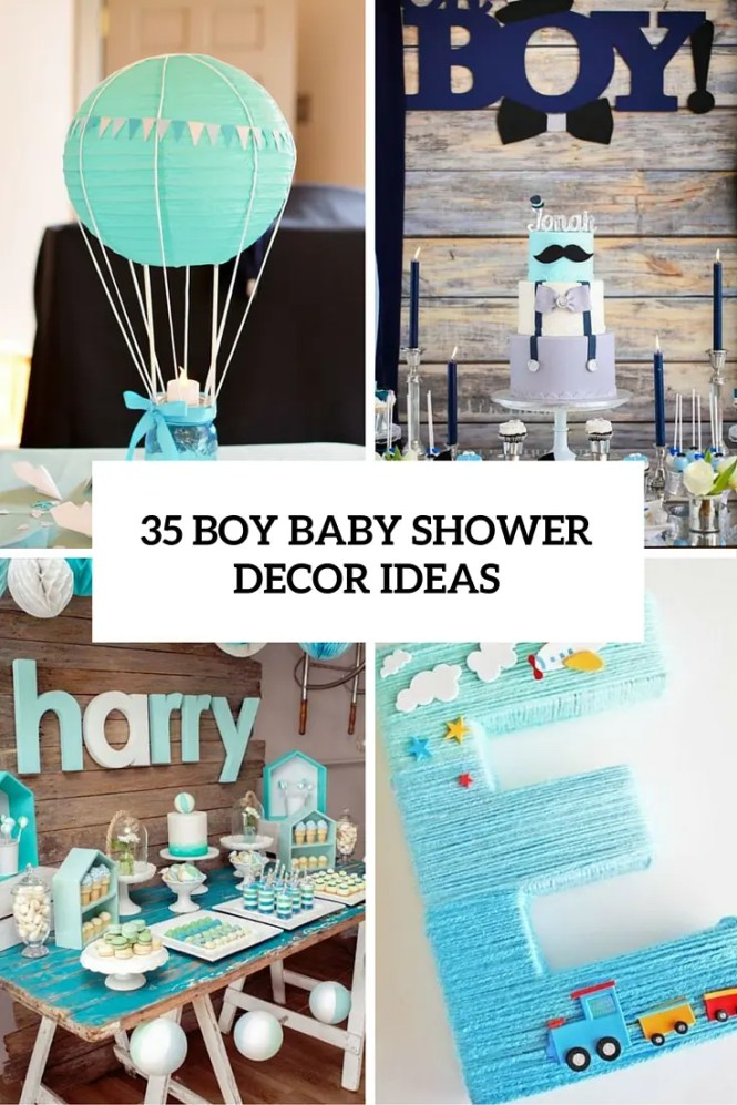 Little Boy Baby Shower With So Many Cute Ideas Via Kara S Party Karaspartyideas