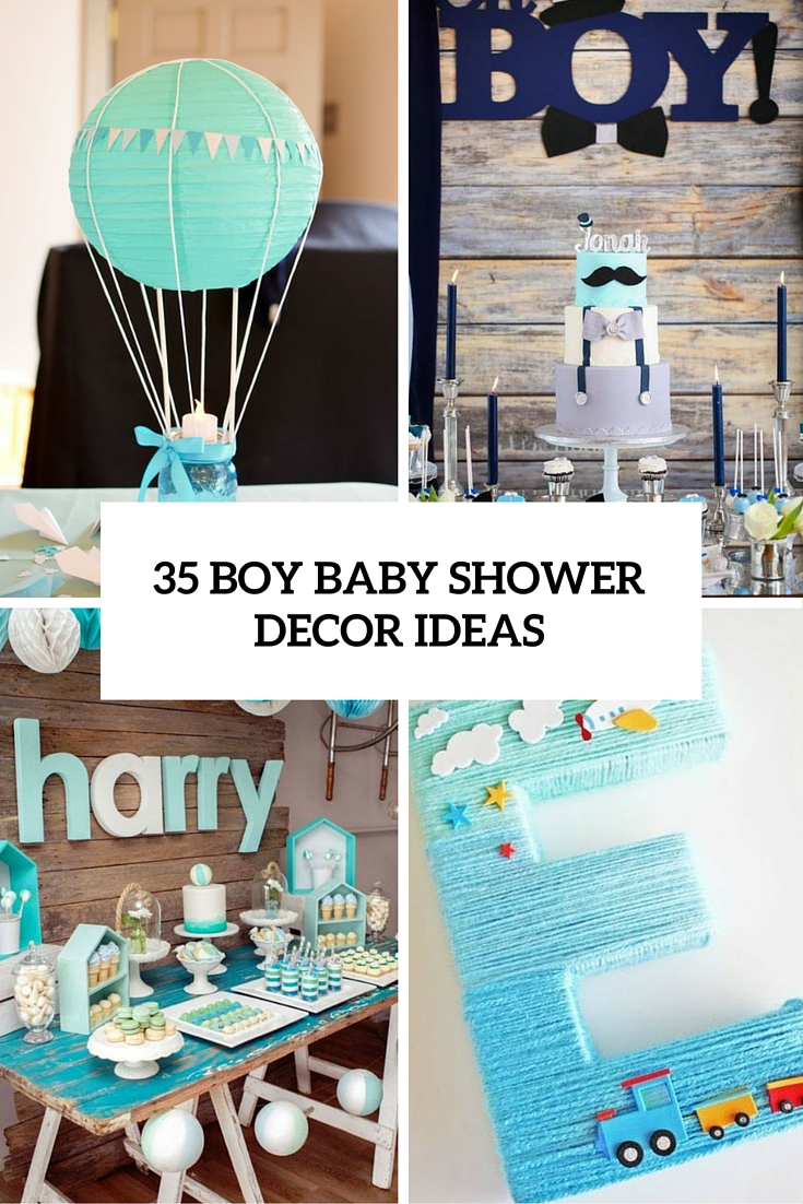 Boy Baby Shower Decorations That Are Worth Trying