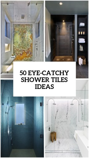 41 Cool And Eye Catchy Bathroom Shower Tile Ideas   DigsDigs 41 Cool And Eye Catchy Bathroom Shower Tile Ideas