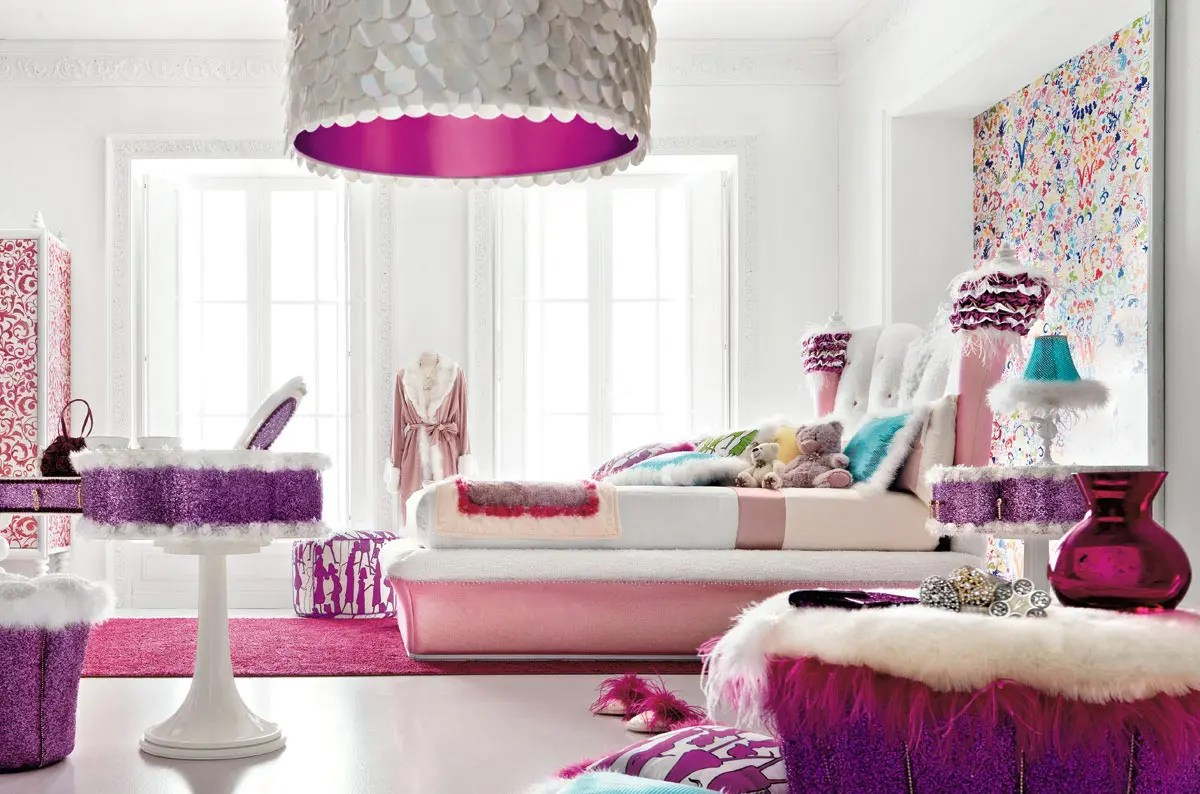 title | Pink Girl Room