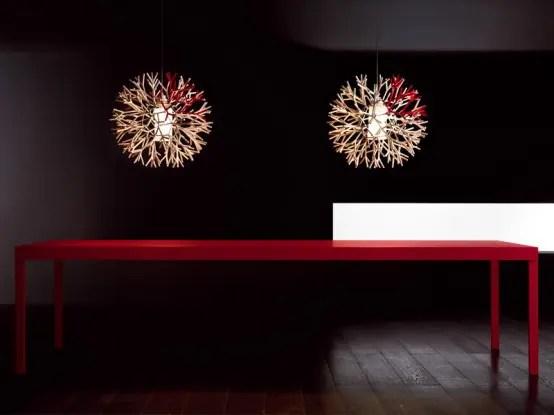 Contemporary Fluorescent Lamps With Extraordinary Shape  Coral By Pallucco