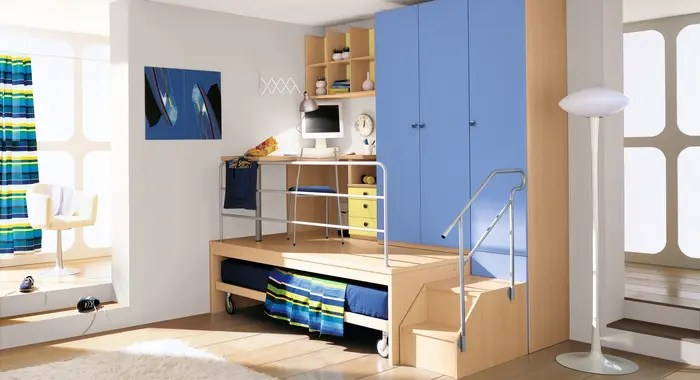 25 Cool Boys Bedroom Ideas by ZG Group | DigsDigs on Cool Bedroom Ideas For Small Rooms  id=59973