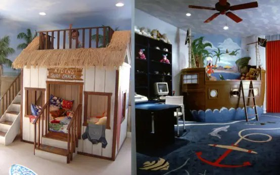 36 Cool Kids' Bedroom Theme Ideas - DigsDigs on Awesome Ideas  id=97079