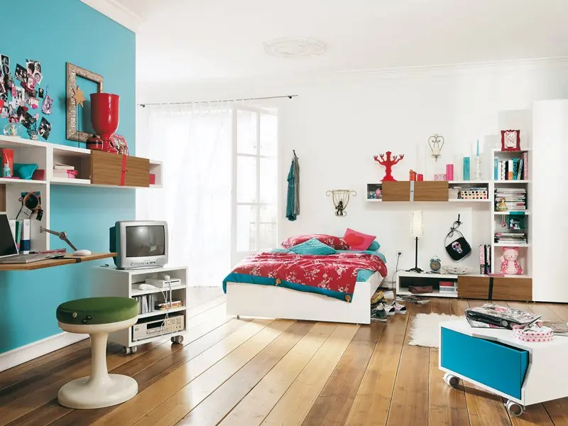 Modern Furniture for Cool Youth Bedroom Design - Namic by ... on Cool Bedroom Ideas  id=44037