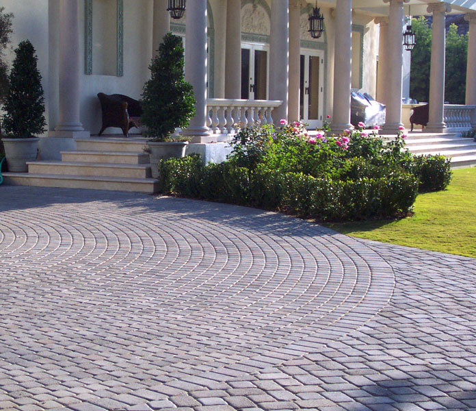 15 Paving Stone Driveway Design Ideas | DigsDigs on Patio Paver Design Ideas id=67477