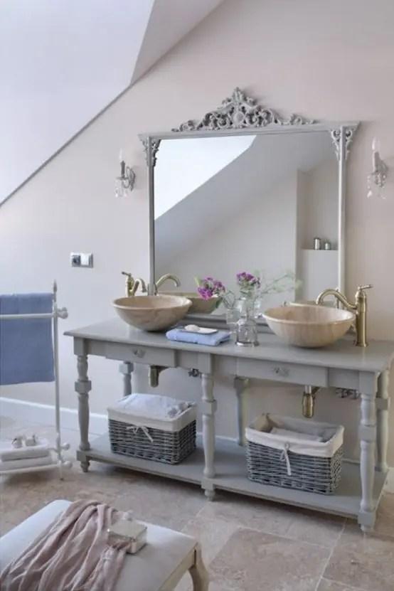 22 Absolutely Charming Provence Bathroom Dcor Ideas