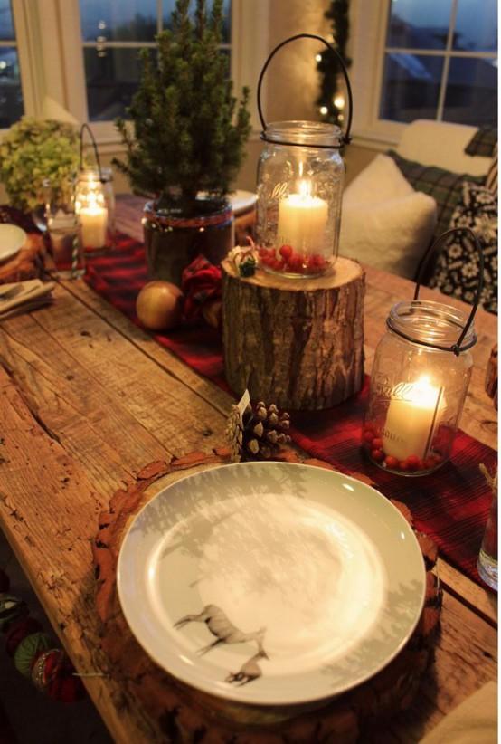 30 Adorable Indoor Rustic Christmas Dcor Ideas DigsDigs