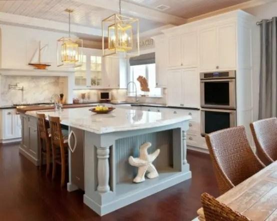 32 Amazing Beach Inspired Kitchen Designs DigsDigs