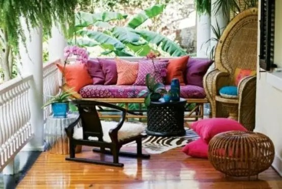 20 Awesome Bohemian Porch D 233 Cor Ideas Digsdigs