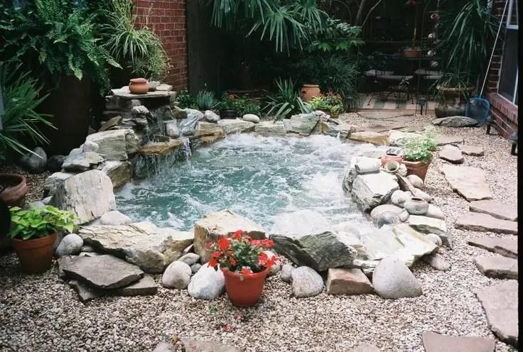 How Build Pond Waterfall Rocks