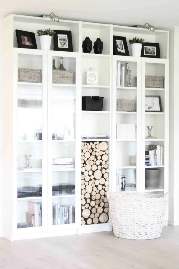 45 Awesome Ikea Billy Bookcases Ideas For Your Home