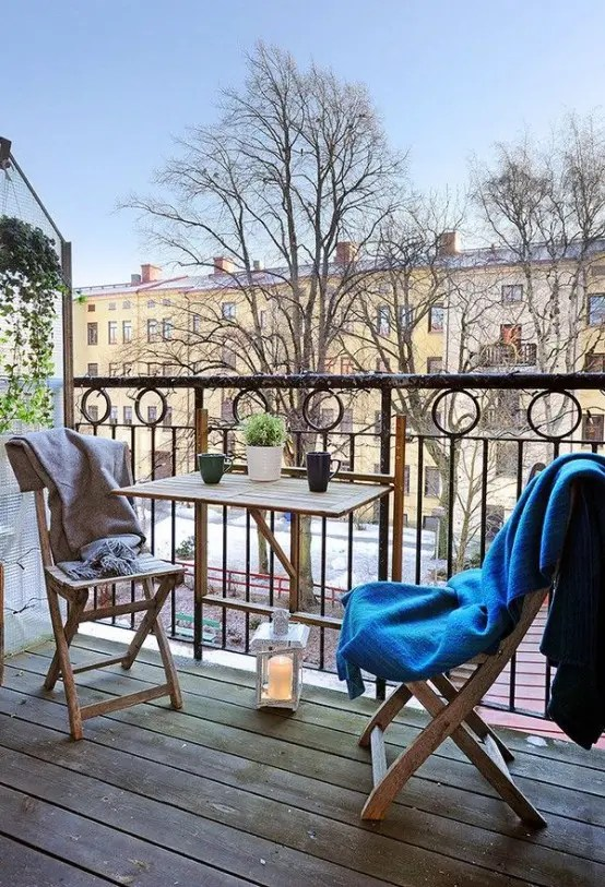 33 Awesome Scandinavian Balcony Designs Digsdigs