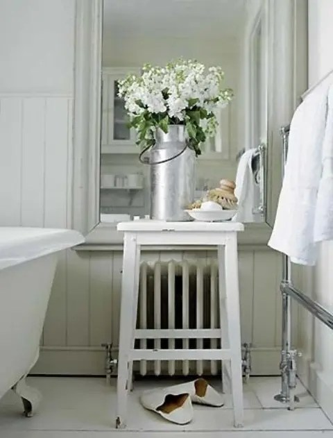 Spring Bathroom Decor