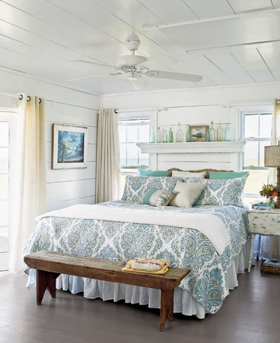 49 beautiful beach and sea themed bedroom designs - digsdigs