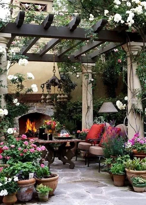 37 Beautiful Bohemian Patio Designs - DigsDigs on Beautiful Patio Designs id=14295