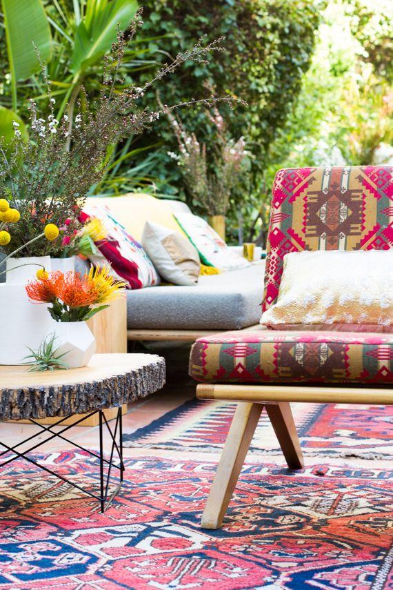 37 Beautiful Bohemian Patio Designs | DigsDigs on Chic Patio Ideas id=49499