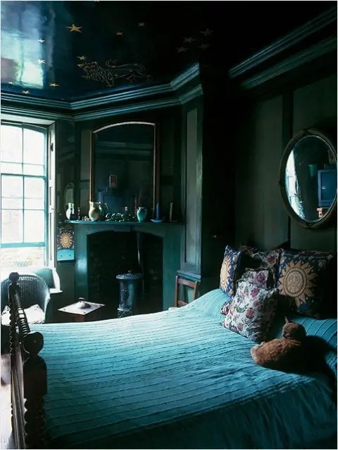 Blue And Turquoise Accents In Bedroom Designs - 39 Stylish ... on Teenage:rfnoincytf8= Room Designs  id=61164