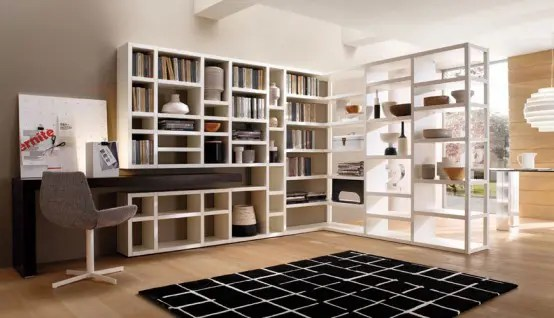Book Storage Wall Units Crossing