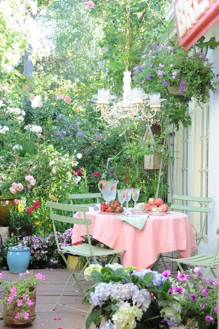20 Bright Spring Terrace And Patio Décor Ideas | DigsDigs on Best Backyard Patio Designs  id=66832