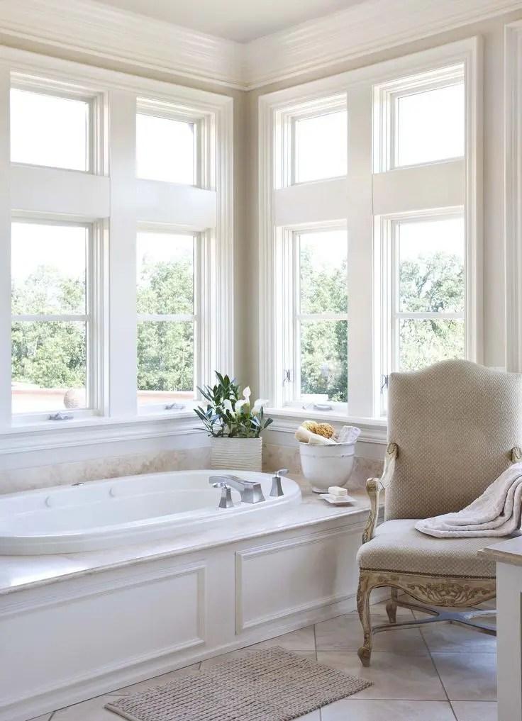 30 Calm And Beautiful Neutral Bathroom Designs | DigsDigs on Beautiful Bathroom Ideas  id=85199