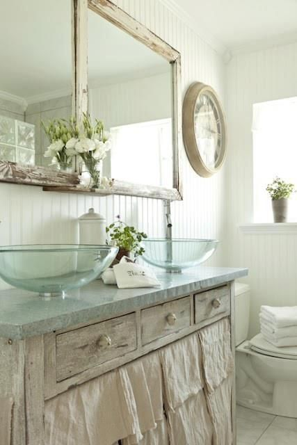 If you are looking for inexpensive bedroom decorating ideas, check out these great pieces for under $100. 30 Calm And Beautiful Neutral Bathroom Designs - DigsDigs