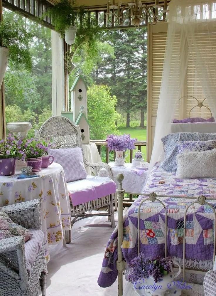 26 Charming And Inspiring Vintage Sunroom Dcor Ideas DigsDigs