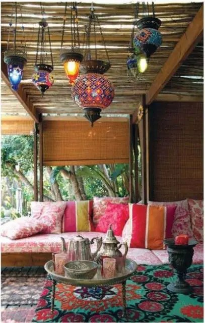 55 Charming Morocco-Style Patio Designs - DigsDigs on Moroccan Backyard Design  id=11140