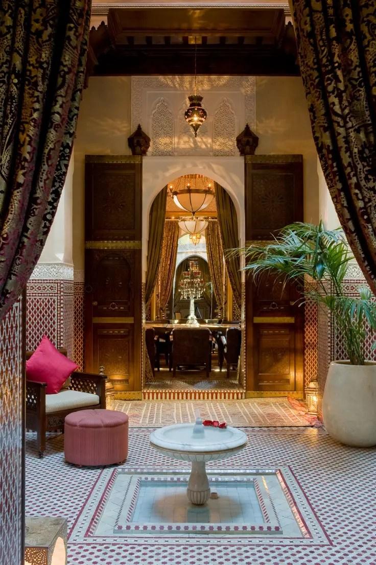 55 Charming Morocco-Style Patio Designs | DigsDigs on Moroccan Backyard Design  id=38034