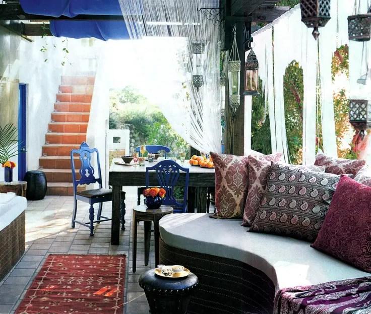 55 Charming Morocco-Style Patio Designs | DigsDigs on Moroccan Backyard Design  id=70434
