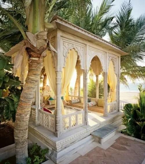 55 Charming Morocco-Style Patio Designs - DigsDigs on Moroccan Backyard Design  id=21916