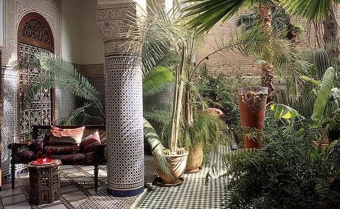 55 Charming Morocco-Style Patio Designs | DigsDigs on Moroccan Backyard Design  id=35700