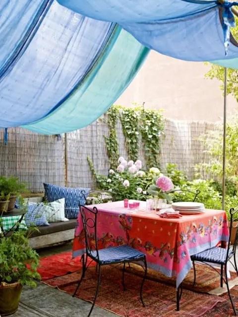 55 Charming Morocco-Style Patio Designs - DigsDigs on Moroccan Backyard Design  id=33626