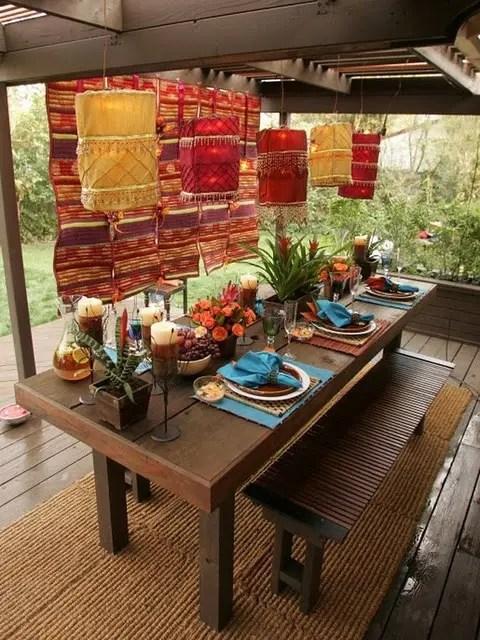 55 Charming Morocco-Style Patio Designs - DigsDigs on Moroccan Backyard Design  id=26652