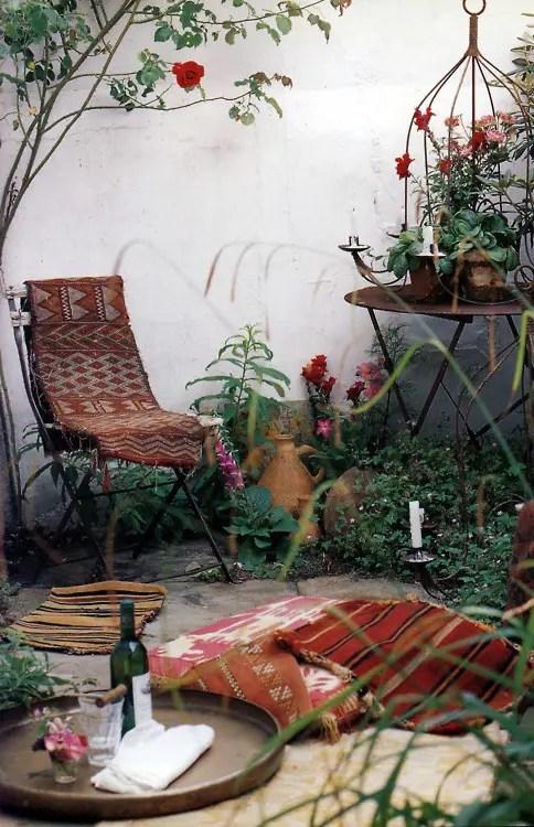 55 Charming Morocco-Style Patio Designs - DigsDigs on Moroccan Backyard Design id=37693