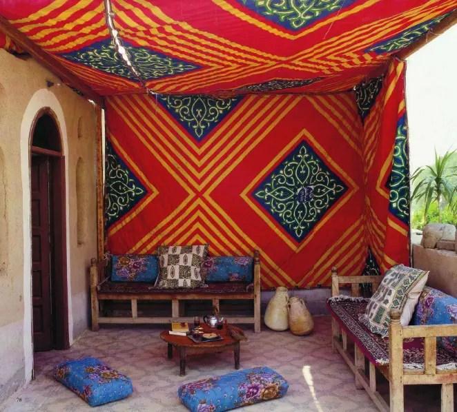 55 Charming Morocco-Style Patio Designs | DigsDigs on Moroccan Backyard Design id=24555