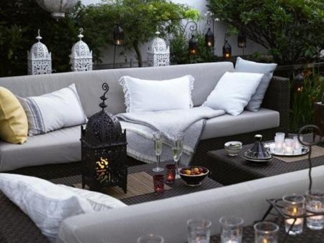 55 Charming Morocco-Style Patio Designs - DigsDigs on Moroccan Backyard Design  id=72553