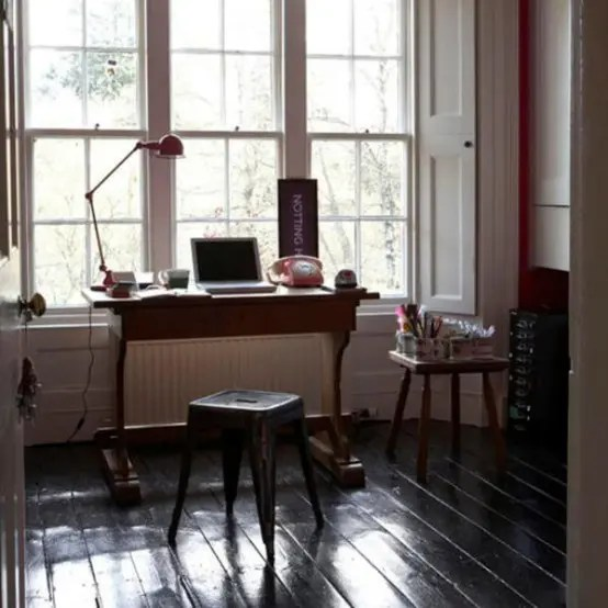 45 Charming Vintage Home Offices DigsDigs