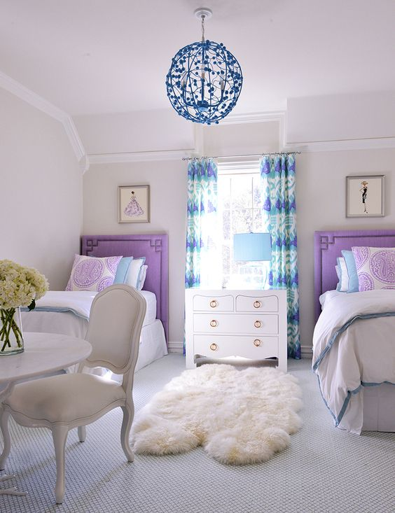 22 Chic And Inviting Shared Teen Girl Rooms Ideas - DigsDigs on Teen Room Girl  id=31700