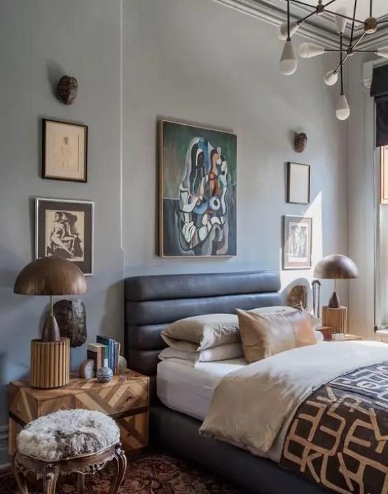 30 Chic And Trendy Mid-Century Modern Bedroom Designs ... on Trendy Bedroom Ideas  id=33619
